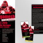 Konzertplakat Gilgamesh