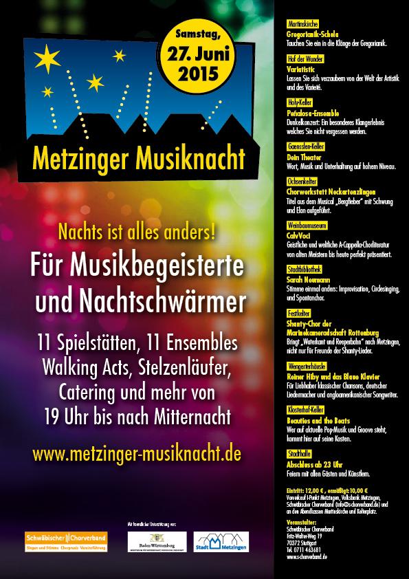 Metzinger-Musiknacht